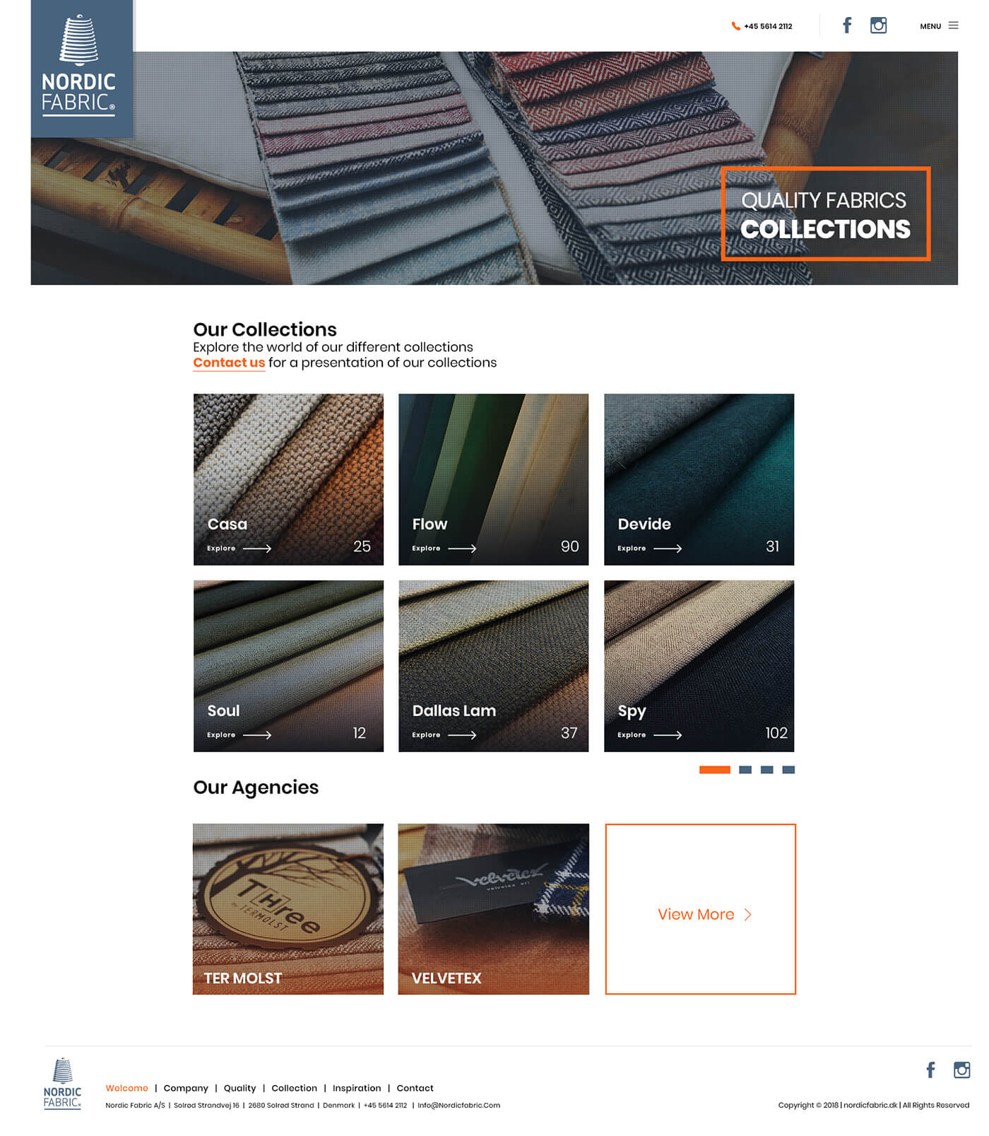 quality fabrics collection